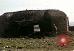 Image of Destroyed German fortifications Granville France, 1944, second 26 stock footage video 65675020909