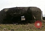 Image of Destroyed German fortifications Granville France, 1944, second 29 stock footage video 65675020909