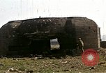 Image of Destroyed German fortifications Granville France, 1944, second 30 stock footage video 65675020909