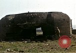 Image of Destroyed German fortifications Granville France, 1944, second 31 stock footage video 65675020909