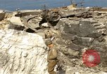 Image of Destroyed German fortifications Granville France, 1944, second 56 stock footage video 65675020909