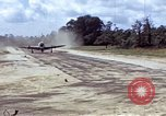 Image of P-47 and P-38 aircraft operating from St.Mere Eglise Saint Mere Eglise France, 1944, second 2 stock footage video 65675020911