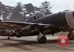 Image of P-47 and P-38 aircraft operating from St.Mere Eglise Saint Mere Eglise France, 1944, second 12 stock footage video 65675020911