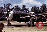 Image of P-47 and P-38 aircraft operating from St.Mere Eglise Saint Mere Eglise France, 1944, second 21 stock footage video 65675020911