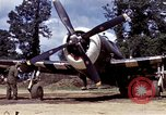 Image of P-47 and P-38 aircraft operating from St.Mere Eglise Saint Mere Eglise France, 1944, second 27 stock footage video 65675020911
