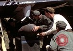 Image of P-47 and P-38 aircraft operating from St.Mere Eglise Saint Mere Eglise France, 1944, second 55 stock footage video 65675020911