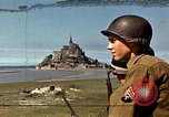 Image of War correspondents visiting Mont Saint Michel and Saint Malo France, 1944, second 14 stock footage video 65675020912