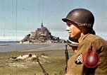 Image of War correspondents visiting Mont Saint Michel and Saint Malo France, 1944, second 16 stock footage video 65675020912