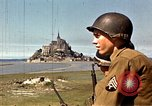 Image of War correspondents visiting Mont Saint Michel and Saint Malo France, 1944, second 17 stock footage video 65675020912