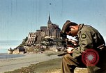 Image of War correspondents visiting Mont Saint Michel and Saint Malo France, 1944, second 20 stock footage video 65675020912