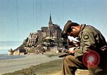 Image of War correspondents visiting Mont Saint Michel and Saint Malo France, 1944, second 21 stock footage video 65675020912