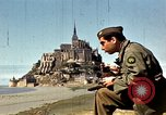 Image of War correspondents visiting Mont Saint Michel and Saint Malo France, 1944, second 22 stock footage video 65675020912