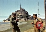 Image of War correspondents visiting Mont Saint Michel and Saint Malo France, 1944, second 29 stock footage video 65675020912