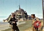 Image of War correspondents visiting Mont Saint Michel and Saint Malo France, 1944, second 30 stock footage video 65675020912