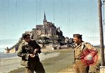 Image of War correspondents visiting Mont Saint Michel and Saint Malo France, 1944, second 34 stock footage video 65675020912
