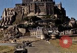 Image of War correspondents visiting Mont Saint Michel and Saint Malo France, 1944, second 40 stock footage video 65675020912