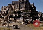 Image of War correspondents visiting Mont Saint Michel and Saint Malo France, 1944, second 41 stock footage video 65675020912