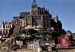 Image of War correspondents visiting Mont Saint Michel and Saint Malo France, 1944, second 44 stock footage video 65675020912