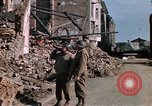 Image of war correspondents Aachen Germany, 1944, second 46 stock footage video 65675020919