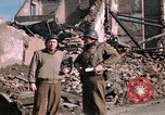 Image of war correspondents Aachen Germany, 1944, second 49 stock footage video 65675020919
