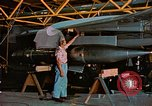 Image of F-102A Edwards Air Force Base California USA, 1956, second 37 stock footage video 65675020955