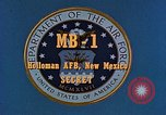 Image of MB-1 rocket Holloman Air Force Base New Mexico USA, 1956, second 3 stock footage video 65675020956