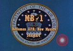 Image of MB-1 rocket Holloman Air Force Base New Mexico USA, 1956, second 4 stock footage video 65675020956