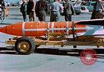 Image of MB-1 rocket Holloman Air Force Base New Mexico USA, 1956, second 55 stock footage video 65675020956
