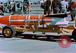 Image of MB-1 rocket Holloman Air Force Base New Mexico USA, 1956, second 57 stock footage video 65675020956