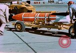 Image of MB-1 rocket Holloman Air Force Base New Mexico USA, 1956, second 61 stock footage video 65675020956