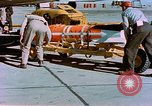 Image of MB-1 rocket Holloman Air Force Base New Mexico USA, 1956, second 62 stock footage video 65675020956