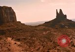 Image of Red sandstone hills and mountains Arizona United States USA, 1967, second 18 stock footage video 65675020981