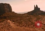Image of Red sandstone hills and mountains Arizona United States USA, 1967, second 19 stock footage video 65675020981