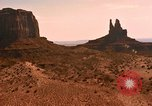 Image of Red sandstone hills and mountains Arizona United States USA, 1967, second 20 stock footage video 65675020981