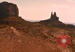 Image of Red sandstone hills and mountains Arizona United States USA, 1967, second 21 stock footage video 65675020981