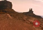 Image of Red sandstone hills and mountains Arizona United States USA, 1967, second 22 stock footage video 65675020981