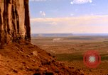 Image of Red sandstone mountains Arizona United States USA, 1973, second 7 stock footage video 65675020984
