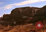 Image of Red sandstone mountains Arizona United States USA, 1973, second 17 stock footage video 65675020984