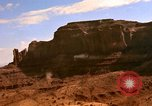 Image of Red sandstone mountains Arizona United States USA, 1973, second 18 stock footage video 65675020984