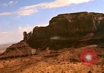 Image of Red sandstone mountains Arizona United States USA, 1973, second 19 stock footage video 65675020984