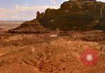 Image of Red sandstone mountains Arizona United States USA, 1973, second 21 stock footage video 65675020984