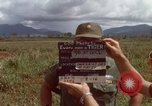 Image of Major Fiacco of US Army discussing sniper training Vietnam, 1967, second 2 stock footage video 65675021014