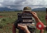 Image of Major Fiacco of US Army discussing sniper training Vietnam, 1967, second 3 stock footage video 65675021014