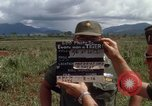 Image of Major Fiacco of US Army discussing sniper training Vietnam, 1967, second 4 stock footage video 65675021014