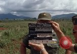 Image of Major Fiacco of US Army discussing sniper training Vietnam, 1967, second 8 stock footage video 65675021014