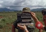 Image of Major Fiacco of US Army discussing sniper training Vietnam, 1967, second 10 stock footage video 65675021014