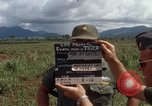 Image of Major Fiacco of US Army discussing sniper training Vietnam, 1967, second 14 stock footage video 65675021014