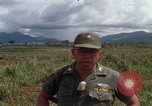 Image of Major Fiacco of US Army discussing sniper training Vietnam, 1967, second 22 stock footage video 65675021014