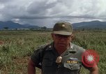 Image of Major Fiacco of US Army discussing sniper training Vietnam, 1967, second 23 stock footage video 65675021014