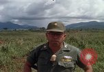Image of Major Fiacco of US Army discussing sniper training Vietnam, 1967, second 24 stock footage video 65675021014